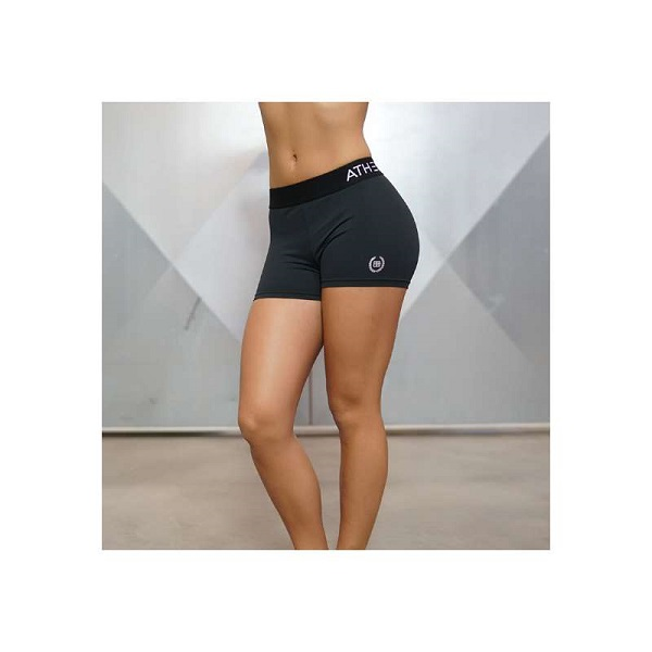 Body Engineers Athena A1 Shorts Black Out