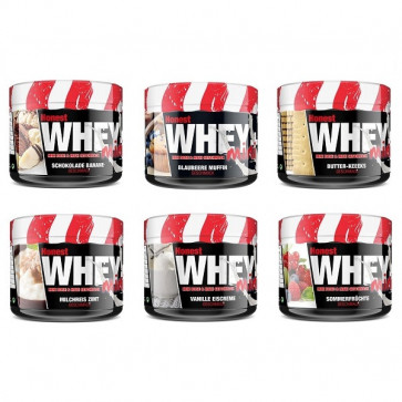 #sinob BlackLine 2.0 Honest Whey+ Mini Angebot 6x 150g