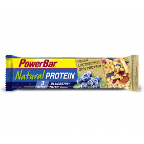 Powerbar Natural Protein - Geschmack: Blueberry Nuts - Box (24x 40g Riegel)