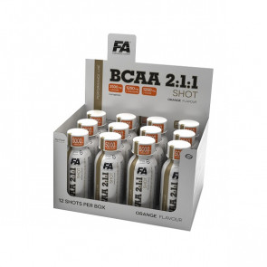 FA® Performance Line BCAA 2:1:1 Shot Box 12x 120ml