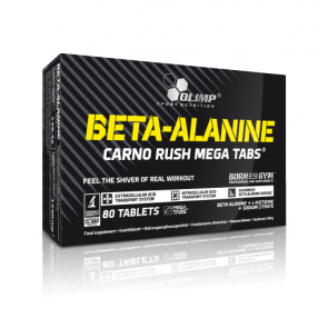 Olimp Beta-Alanine Carno Rush Mega Tabs (80 Tabletten)