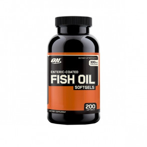 Optimum Nutrition Fish Oil Softgels 200 Softgels