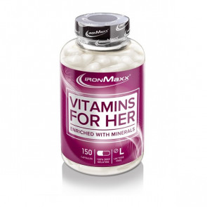 IronMaxx® Vitamins for Her 150 Caps