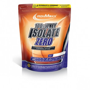 IronMaxx® 100% Whey Isolate ZERO 2000g