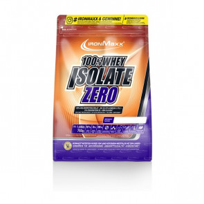 IronMaxx® 100% Whey Isolate ZERO 750g