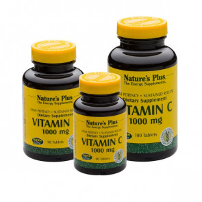 Nature's Plus VItamin C 1000mg Tabletten