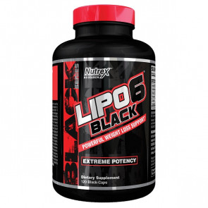 Nutrex® Research Lipo-6 Black 120 Caps
