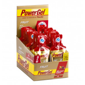 PowerBar PowerGel® Fruit - Geschmack: Red Fruit Punch - Box (24x 41g Beutel)