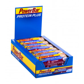 PowerBar Protein Plus Low Sugar - Geschmack: Mixed Berry - Box (15x 55g Riegel)