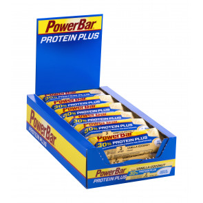 PowerBar Protein Plus 30% Vanilla-Coconut Box