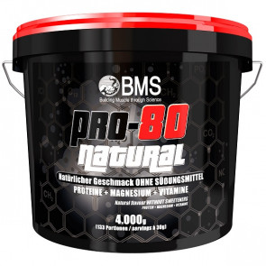 BMS Pro-80 Natural 4000g