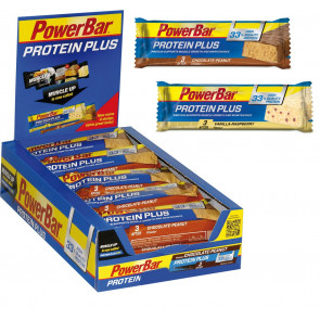 PowerBar Protein Plus 33% - Box (10x 90g Riegel)