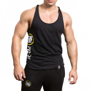 Patrick Teutsch TEAM Stringer black side print front