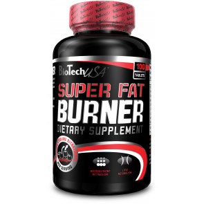 BioTechUSA Super Fat Burner - 120 Tabletten