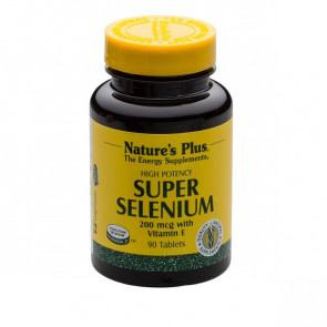 Nature's Plus Super Selenium 200mcg 90 Tabs