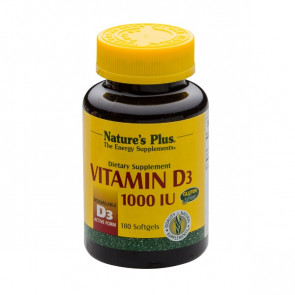 Nature's Plus Vitamin D3 1.000IU 180 Softgels