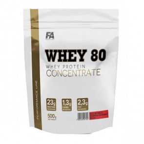 FA Peformance Line Whey 80 Whey Protein Concentrate 500g