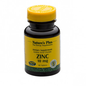 Nature's Plus Zinc 10mg 90 Tabs