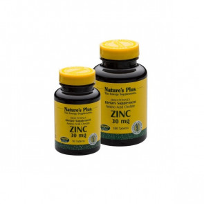 Nature's Plus Zinc 30mg