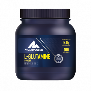 Multipower L-Glutamine Powder - 500g Dose-Ananas