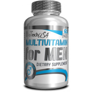 BioTechUSA Multivitamin for Men - 60 Tabletten