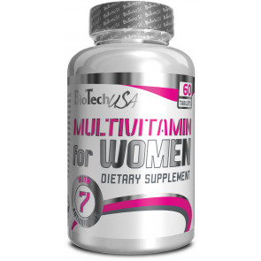 BioTechUSA Multivitamin for Women - 60 Tabletten
