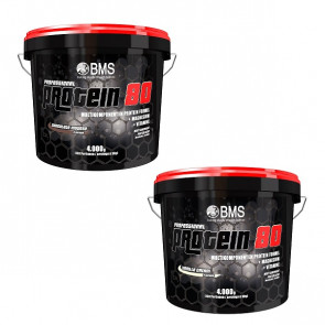 BMS Professional Protein 80 Angebot 2x 4000g