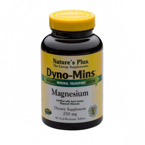 Nature's Plus Dyno-Mins® Magnesium 250mg 90 Tabs