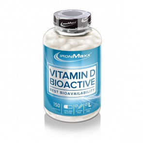 IronMaxx Vitamin D Bioactive 150 Caps