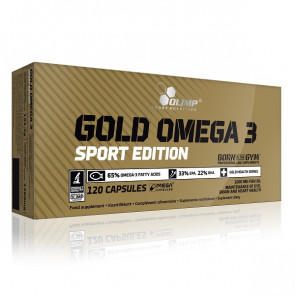 Olimp Gold Omega 3 Sport Edition 120 Caps