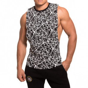 SY cutted Tank black venom front