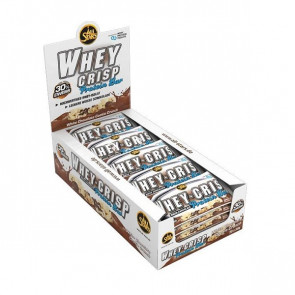 All Stars Whey-Crisp® Protein Bar Box 24x 50g