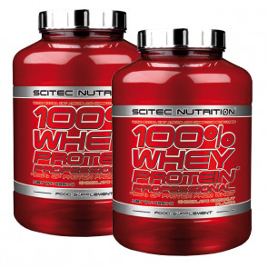 Scitec Nutrition 100% Whey Protein Professional Angebot - 2x 2350g Dose