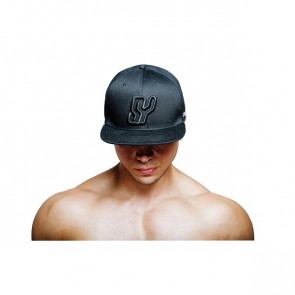 SY Black on Black Snapback