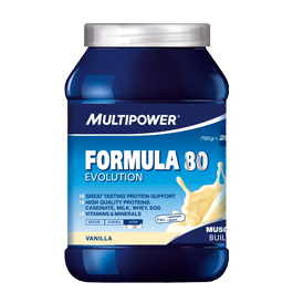 Multipower Formula 80 Evolution-Banane-750g