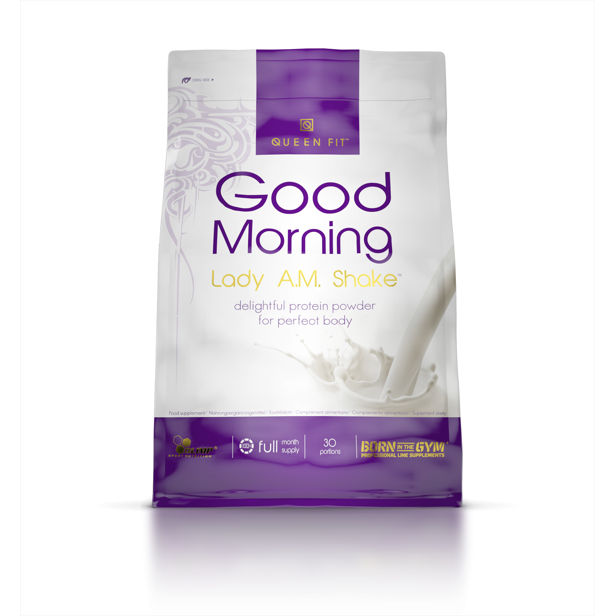 Olimp Quenn Fit Good Morning Lady A.M. Shake - 720g Beutel