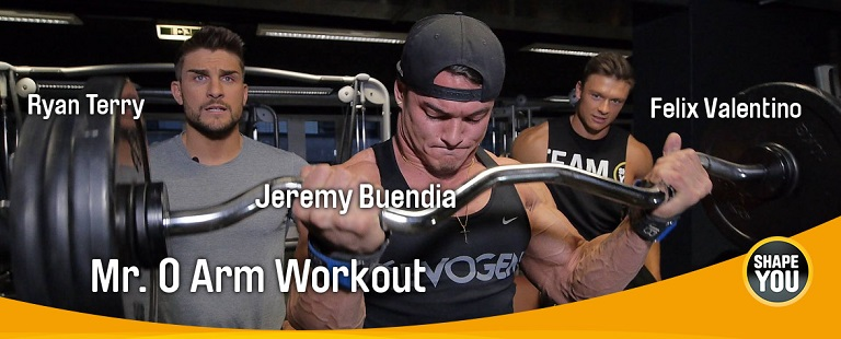 Jeremy Buendia, Ryan Terry und Felix Valentino Arm Workout