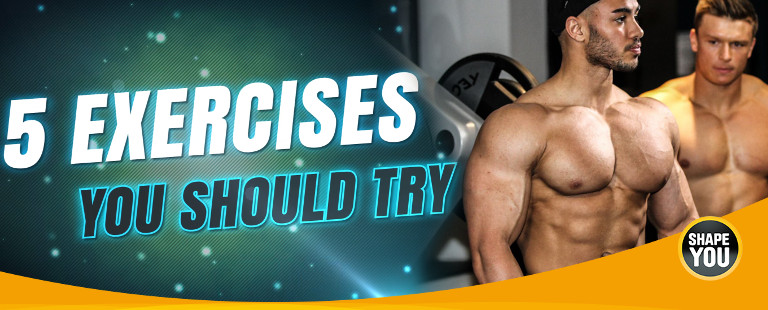 5 Exercises you schould try