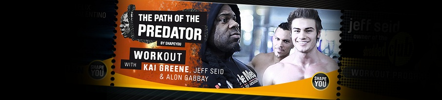 Kai Greene's Path Of The Predator Workout Series