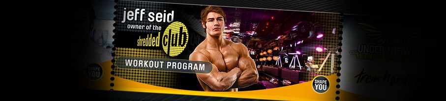 Jeff Seid's Shredded Club Workout Series