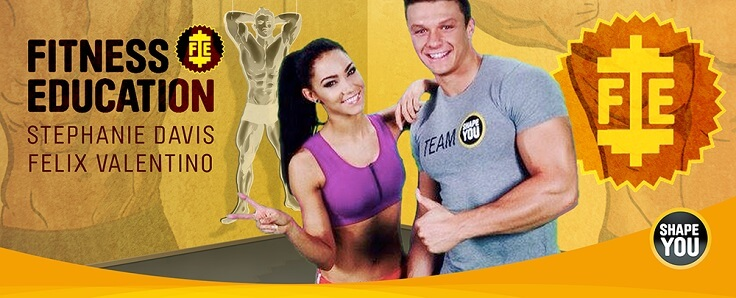 Fitness Education mit Stephanie Davis und Felix Valentino