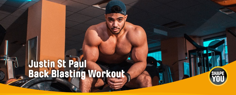 Back Blasting Workout - Justin St Paul