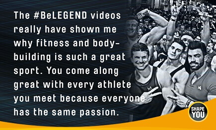Sergi Constance - BeLEGEND Videos
