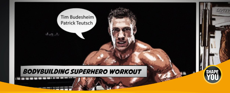 Bodybuilding Superhero Workout