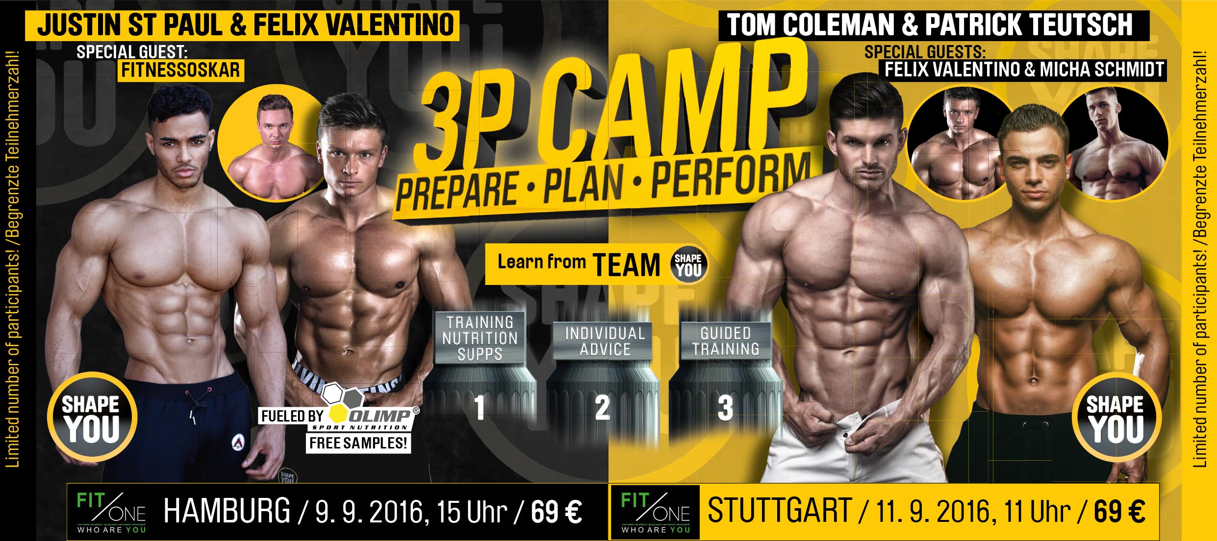 The Camp 2016 in Stuttgart und Hamburg