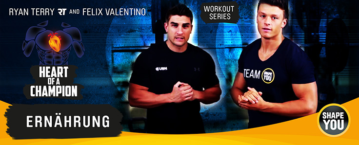 Ryan Terry's and Felix Valentino's Heart Of A Champion Nutrition Basics
