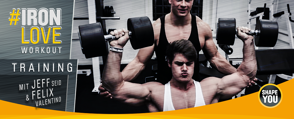 Jeff Seid Trainingsplan