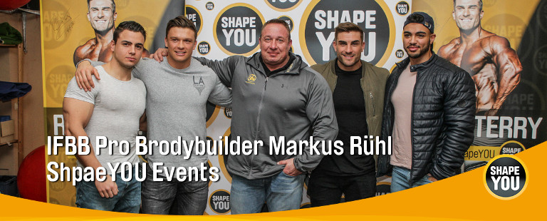 Markus Ruehl Events