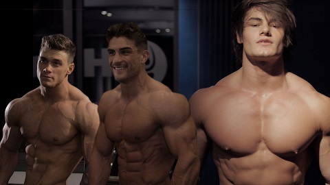 The Hour mit Jeff Seid, Harrison Twins, Justin St Paul, FitnessOskar