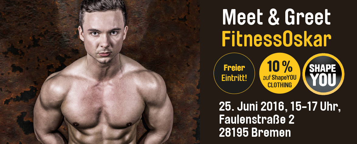 Meet & Greet FitnessOskar